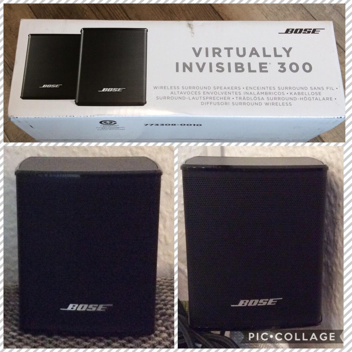 Bose Virtually Invisible 300 Boxen  7f8f0fc466c24